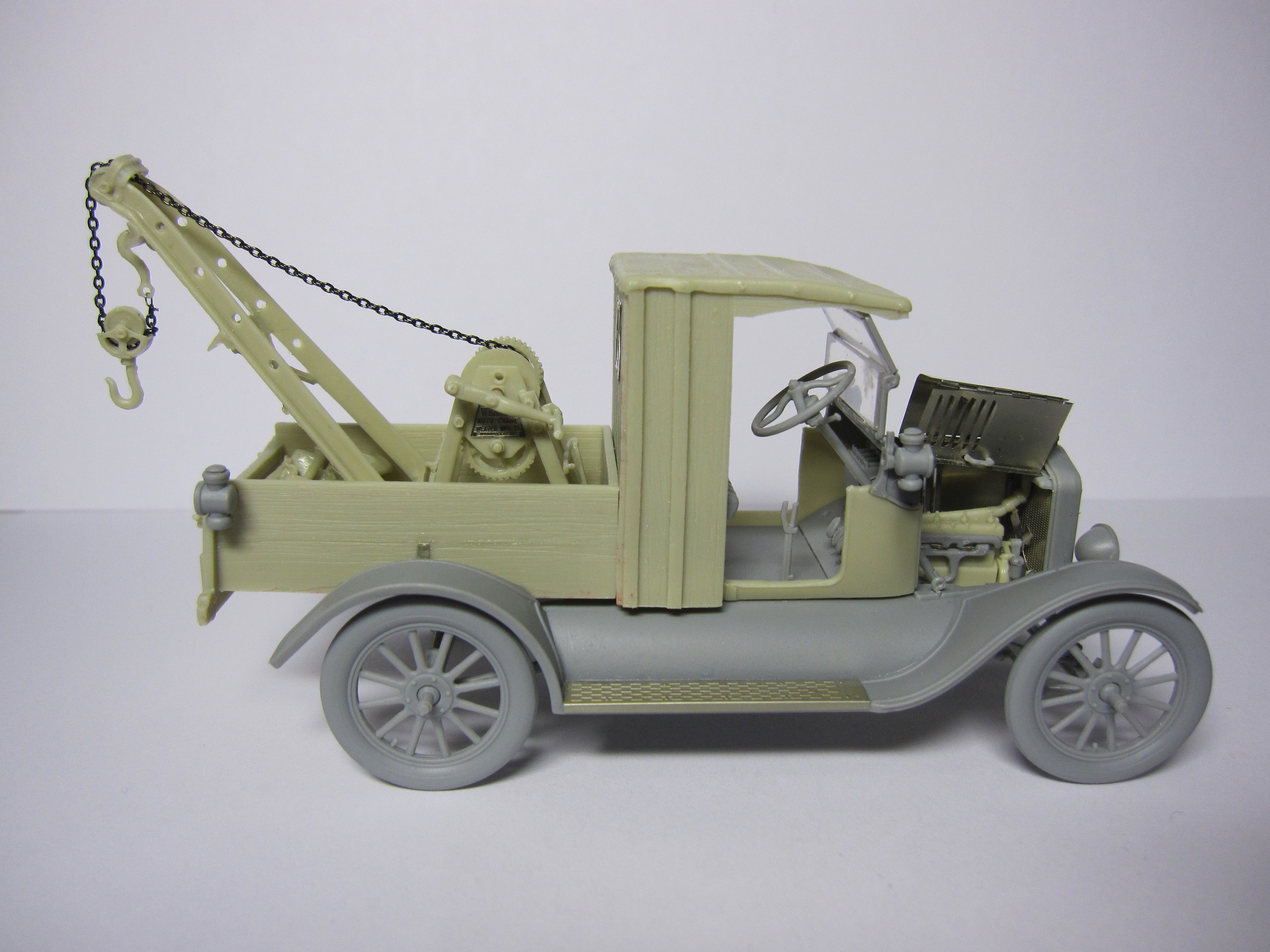 CIX Models 1//35 Ford Model T Wrecker Conversion Set for ICM LCP kits