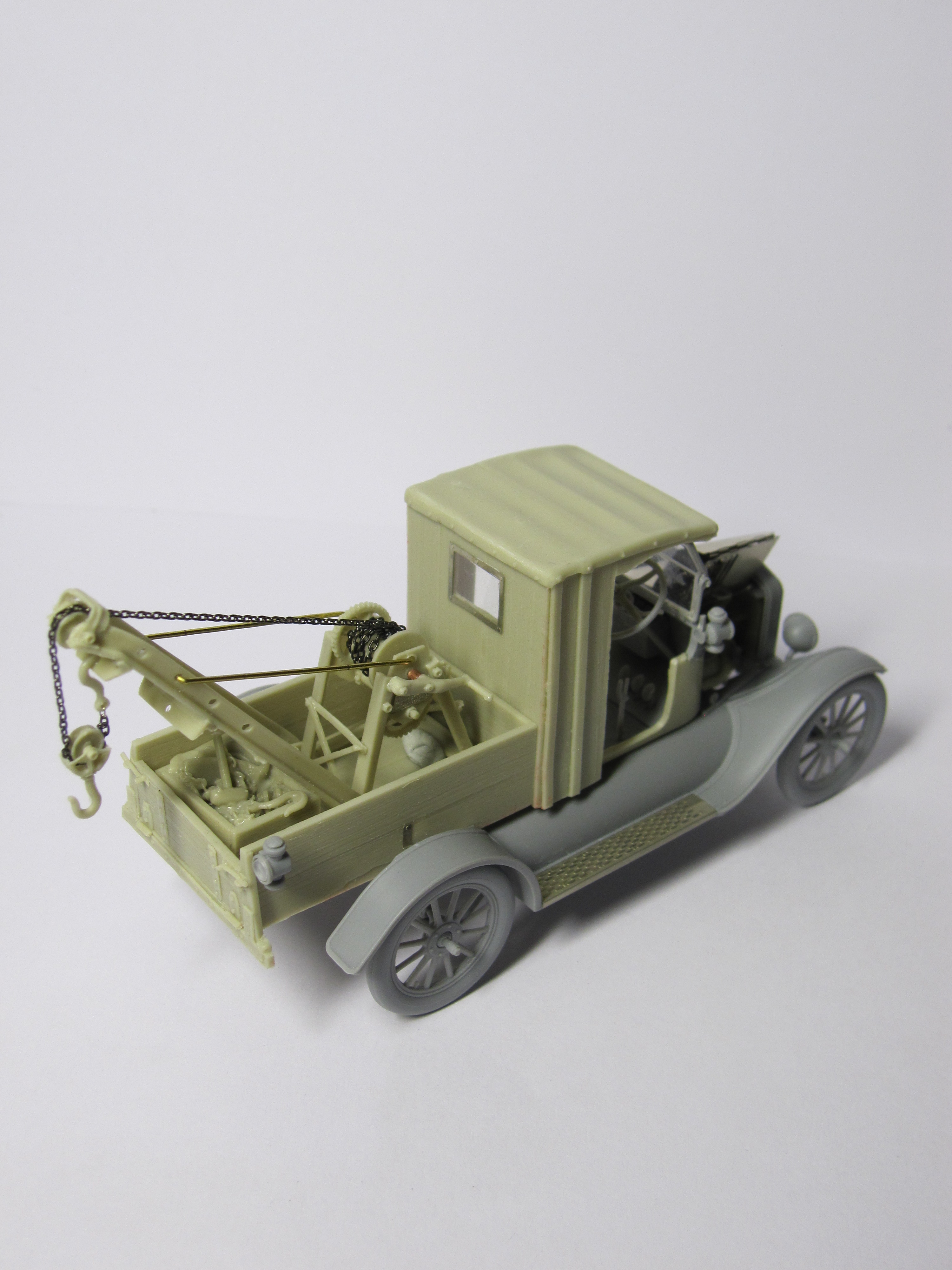 CixM016 FORD MODEL T WRECKER CONVERSION PER ICM LCP KIT 1 ...